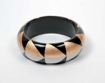 bracelet AGUAYO Gold - Black - White