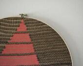 single mountain embroidery hoop
