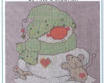 SALE CM Designs Of Mice & Snowmen Cross Stitch Pattern