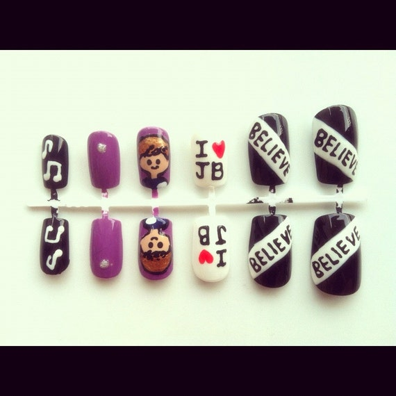 JUSTIN BIEBER NAIL SET on The Hunt
