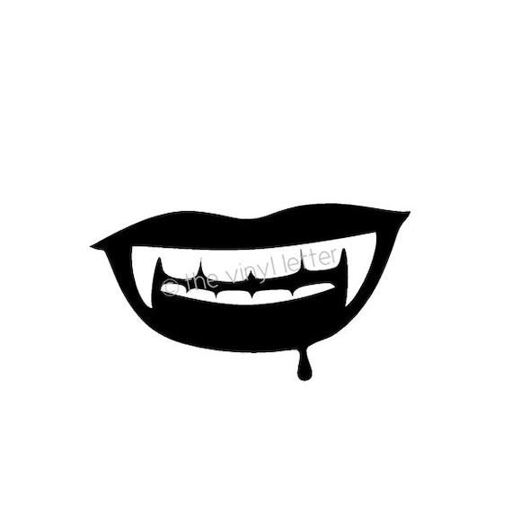 Pin The Fangs on The Vampire Dracula Vampire Fangs