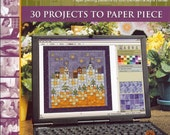 Quilt book and Quilt CD combination - The Blessed Home quilt book and Town and Country Patchwork CD - quilt projects for your home