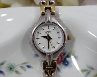 Working Vintage Caravelle by Bulova  Ladies Dual Tone Watch