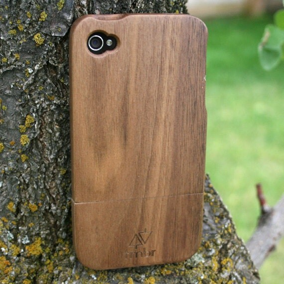 iPhone 4 4s Case Handmade Quality Wood Wooden Bamboo FREE SHIPPING in the US