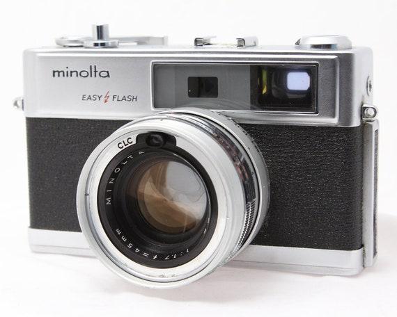 HI - Matic 9 MINOLTA Camera - Vintage 1960s 35mm Film Camera