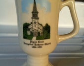 Pigeon Creek Evangelical Lutheran Church Souvenir Cup, Collectible Commemorative Mug