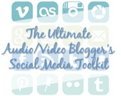 The Ultimate Audio/Video Blogger's Social Media Button Toolkit