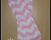 CHEVRON Leg Warmers Pink