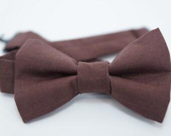 Bow Tie - Brown Bowtie