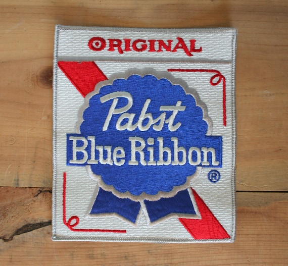 Vintage 70s PABST PATCH / Large Unused PBR Backpatch