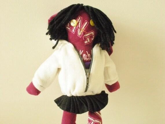 School Girl Doll -  Kawaii Bunny Plush