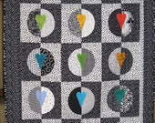 The Effect of the Heart on Polarity - an original quilt design