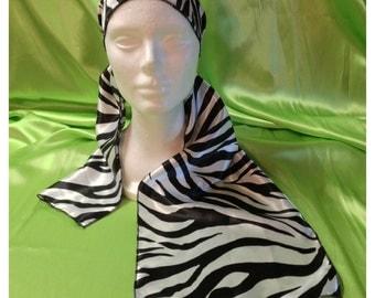 Zebra Dreams eScarf