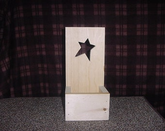 Unfinished Candle or Potpourri Holder Box