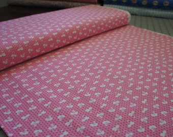 Sprout in Pink, from Madrona Road collection by Violet Craft by the Yard