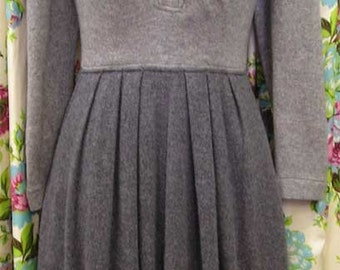 1970s / 1980s Oscar de la Renta Cashmere Silk Knit Dress