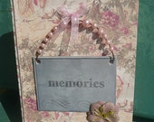 Journal -Hard Cover- Faux Vintage Toile