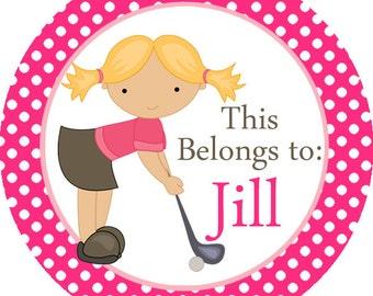 Girls Golf Etsy