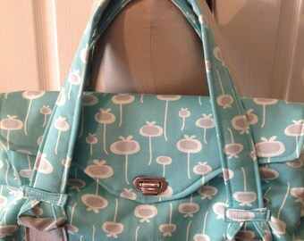 Gorgeous Amy Butler pattern Blossom Bag