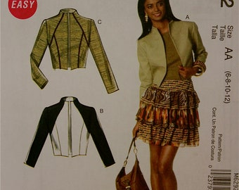 "Jacket -Waist Length- McCall's  Pattern 6292  Uncut   Size 6-8-10-12  Bust 30.5-31.5-32.5-34"""