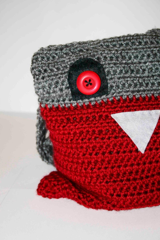 Crochet Clutch Bag Pattern : SALE 50% off Childrens Bag Crochet Childs Bag Birdie Bag