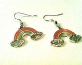 Rainbow Charm Earrings ( Pride, children )