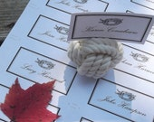 Nautical Name Cards - 35 printable placecards -great for weddings, anniversaries, birthdays, showers and more