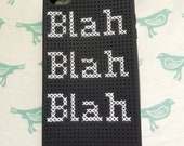 Blah Blah Blah iPhone 4 case