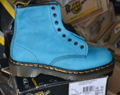 Catalini Turqouise Doc Marten Boots