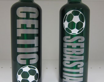 saharlsn3 x11 Personalized Water Bottle Soccer