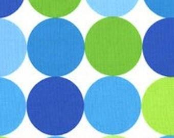1/4m Disco Dot Caribe - Michael Miller