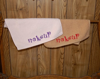 Makeup Removal Washcloth Set of Two