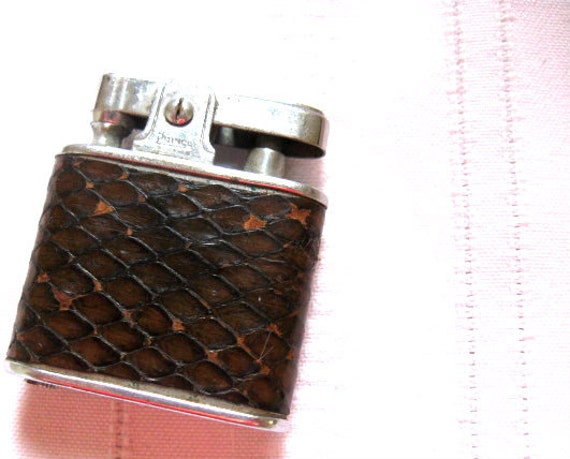 Antique Lighter Snake Skin by Prince Manufacturing Co