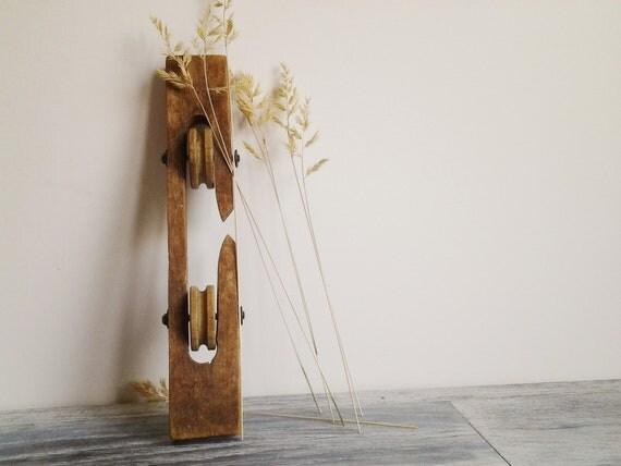 Rustic Wooden Clothes Line Spreader Vintage Home Decor