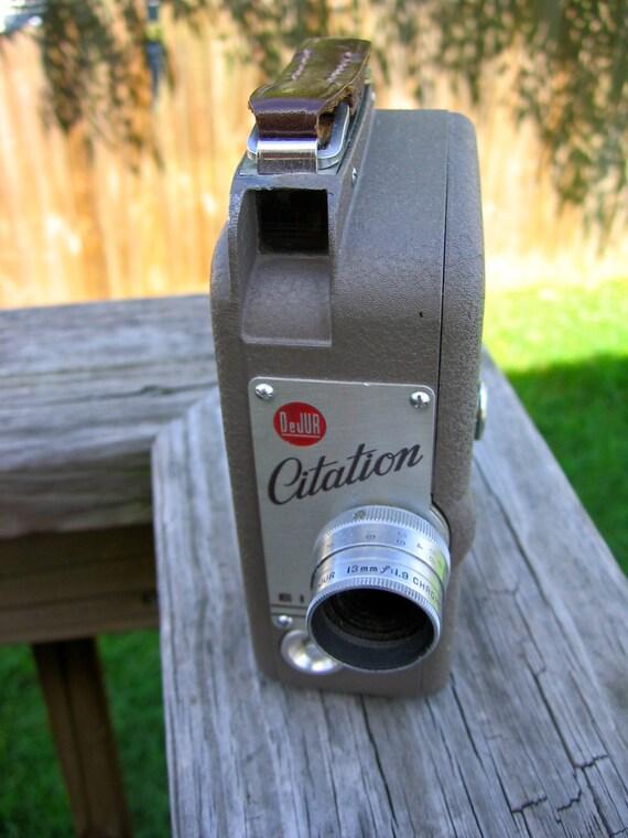 DeJUR Citation 8mm Camera