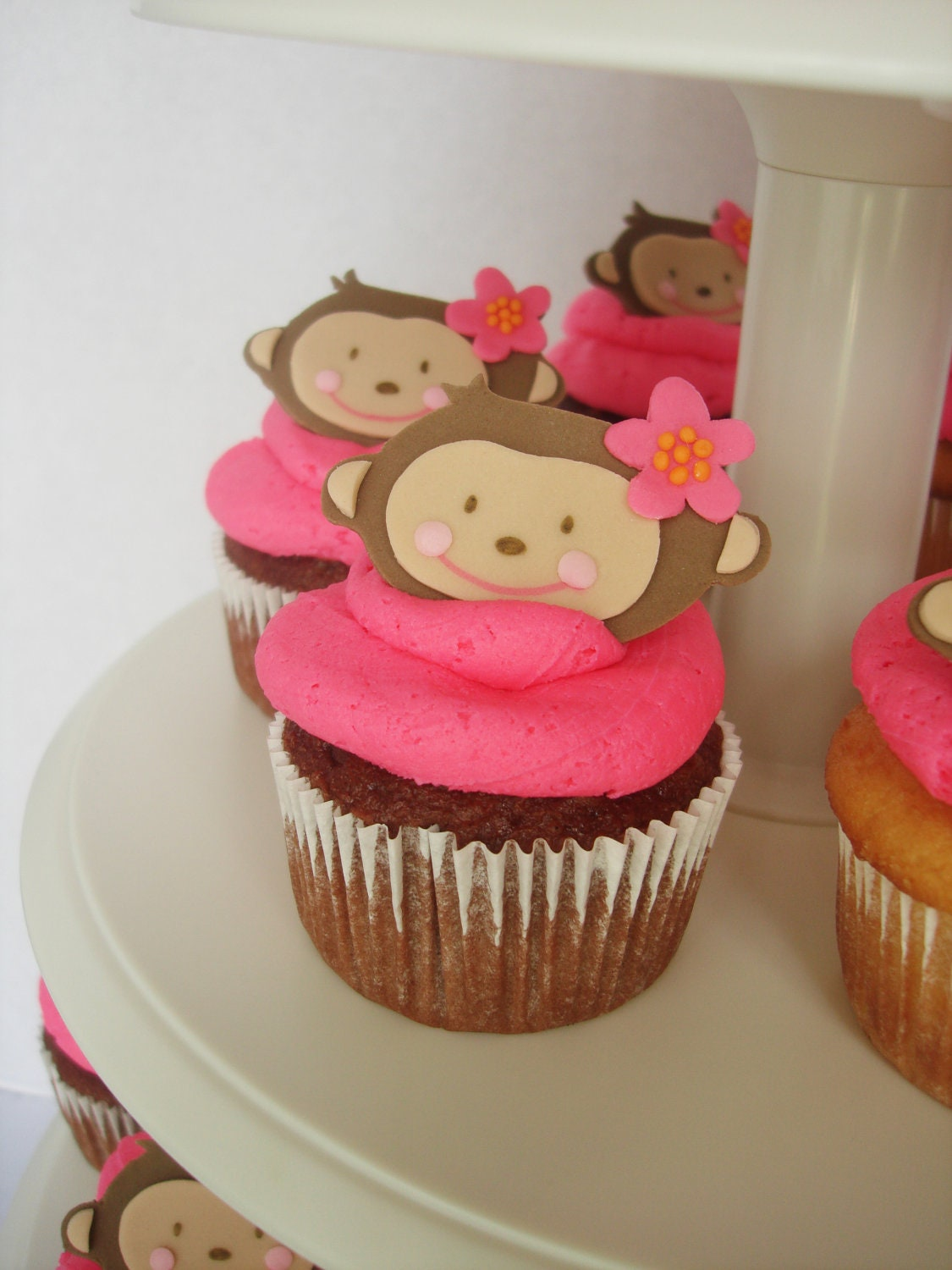 Monkey love cupcakes - photo#19