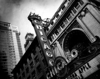 Chicago Theater Polaroid Photograph