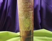 "Antique Book ""The World's Greatest Orations"" Official Edition 1899 Vol 7 of Ten Volume Set, Editor David Brewer"