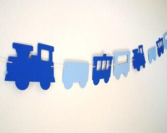 Choo choo Train Paper Garland 5 ft.