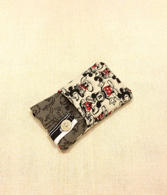 Super cute Micky mouse iphone sleeve, ipod touch case, smart cellphone cover, Kindle case, samsung galaxy case,pouch, padded