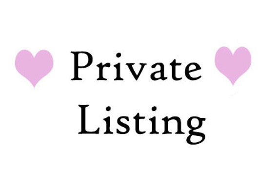 Private Listing for Danielle