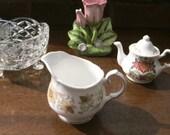 Vintage Duchess Bone China Greensleeves quaint small english milk creamer Jug pattern 348 SALE ITEM