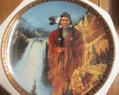 Vintage Plate The Franklin Mint Collection Chief Joseph Spirit of Freedom SALE ITEM
