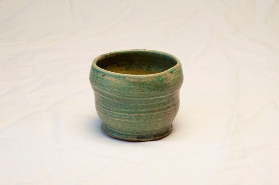 Turquoise  Tea Bowl