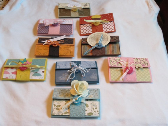9 All Occassion Gift Card Holders