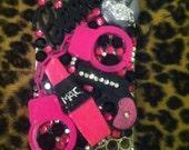 Bad Barbie handcuff gun iPhone 4 case