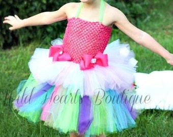 The Hello Cutie- Hello Kitty Inspired Birthday Tutu Dress (Sizes 5T & Up)