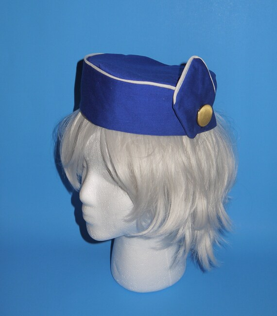 1970s Pan Am Airline Stewardess Hat