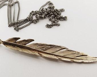 Sora- feather necklace