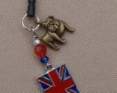 British Bulldog- Phone/MP3 Player Charm